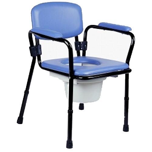 Krzesło toaletowe tapicerowane
