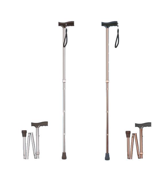 Laska inwalidzka aluminiowa składana